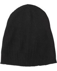 John Varvatos - Fine Merino Wool Knit Beanie Hat - Lyst