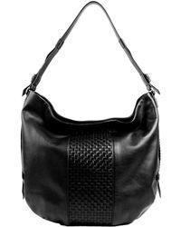 Cole Haan Brennan Leather Hobo Bag - Lyst