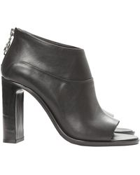 Rag & Bone Liam Open Toe Booties - Lyst