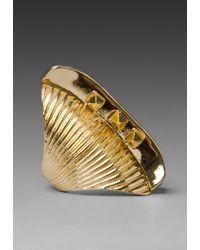 Belle Noel - Glam Rock Long Finger Ring - Lyst