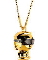 Karl Lagerfeld Necklace - Lyst