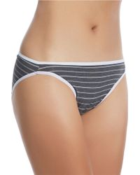 Felina Sublime High Cut Brief Panty - Lyst
