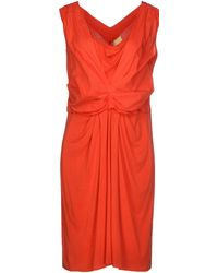 Guardaroba Short Dress orange - Lyst