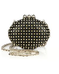 Christian Louboutin Mina Embellished Clutch - Lyst