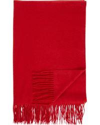 Sofia Cashmere   Cashmere Throw-red   Lyst