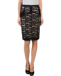 Nina Ricci Lace Pencil Skirt - Lyst