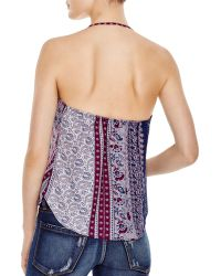 Olivaceous - Printed Top - Lyst