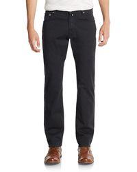 Corneliani 5-Pocket Straight-Leg Pants - Lyst