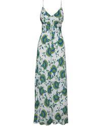 ViX   Lattice Faby Long Dress   Lyst