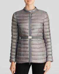 Moncler Gray Damas Jacket - Lyst