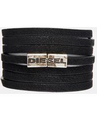 Diesel Disesel Acavi Wrap Bracelet - Lyst