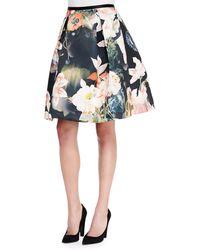 Ted Baker Paladia Opulent Bloomprint Full Skirt Multi 1 - Lyst