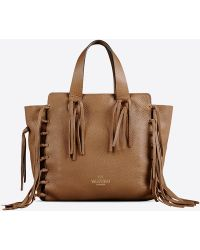 Valentino Double Handle Bag - Lyst