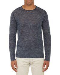 John Varvatos Whipstitched Sweater - Lyst