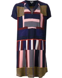 Suno Printed Day Dress - Lyst