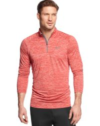 Under Armour Long Sleeve Quarter-Zip Pullover - Lyst