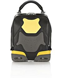Alexander Wang Exclusive Small Sneaker Bag In Exhaust And Limonite With Rhodium - Lyst
