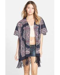 Blu Pepper - Kimono Jacket - Lyst