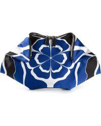 Alexander McQueen De Manta Floral Clutch - Lyst