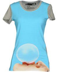Love Moschino T-Shirt gray - Lyst