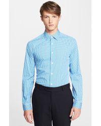 Paul Smith 'Byard' Trim Fit Gingham Check Dress Shirt - Lyst