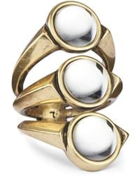 Jenny Bird Orion Ring - Size 8 gold - Lyst