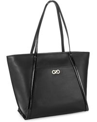 Cole Haan Dual Handled Tote - Lyst
