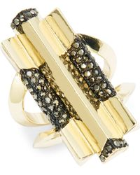House of Harlow 1960 - Deco Ring - Lyst