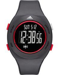 adidas Originals - Digital Grey Polyurethane Strap Watch - Lyst