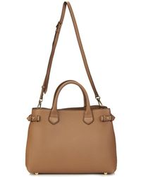 Burberry London Banner Medium Leather Tote - Lyst