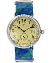 Smart Turnout - Officer Stainless Steel Watch - Lyst