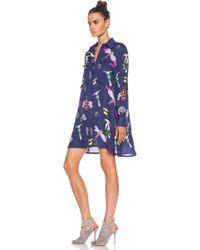 Mary Katrantzou Oriane Blouse Dress - Lyst