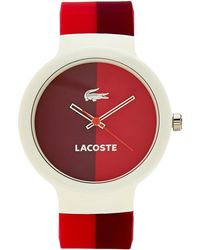 Lacoste Pink  Purple Ladies Watch - Lyst