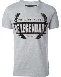 Philipp Plein 'Be Legendary' T-Shirt - Lyst
