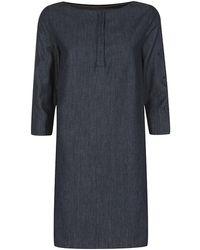 Armani Jeans - Denim Tunic Dress - Lyst