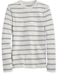 American Rag Double-stripe Thermal Shirt - Lyst