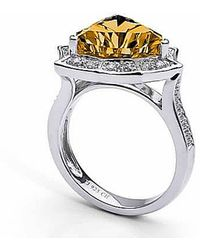 Tia Collections - Citrine Star Ring In Sterling Silver - Lyst