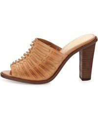 Elliott Lucca - Vienna Woven Slide Sandal - Lyst