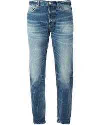 Golden Goose Deluxe Brand Blue Cropped Jeans - Lyst
