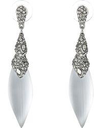 Alexis Bittar Encrusted Articulating Post Earrings - Lyst