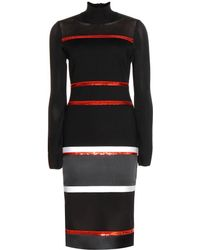 Givenchy Sequin Stretch Dress - Lyst