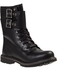 Timberland Earthkeepers Lace-Up Boots Black Leather - Lyst