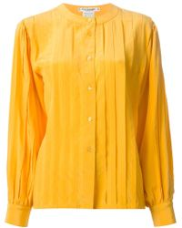 Guy Laroche - Pleated Shirt - Lyst