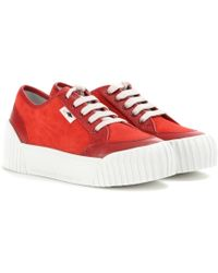 Marc By Marc Jacobs Retro Suede Platform Sneakers - Lyst