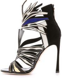Sergio Rossi Multi Colored Heels - Multi - Lyst