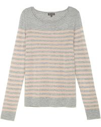 Vince Camuto Color Block Stripe Sweater - Lyst