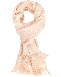 Forever 21 - Fuzzy Woven Oblong Scarf - Lyst
