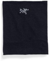 Arc'teryx - 'rho' Wool Blend Neck Gaiter - Lyst