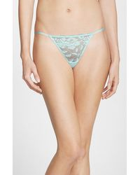 Betsey Johnson 'Starlet' Lace Thong - Lyst
