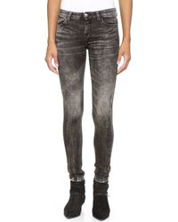 Iro Rita Jeans Stripe Black - Lyst